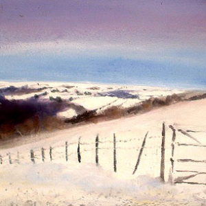 Winter Fields, Dartmoor – Greetings cards