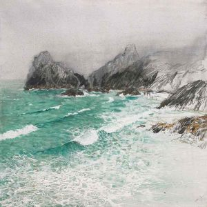 Cornish Seascape, Kynance Cove, The Lizard, Cornwall