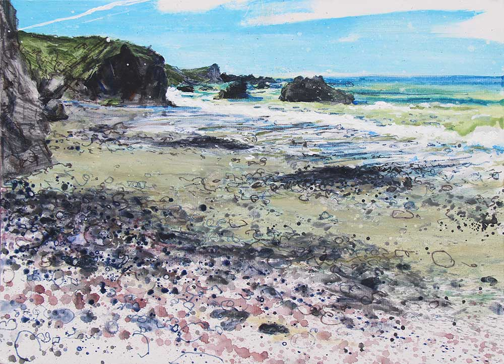 Early Tide, Serpentine Stones, Pentreath Beach, Kynance, The Lizard Cornwall