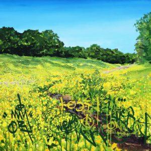 Fordlands Brook by Landscape-Graffiti Artist Joe Webster