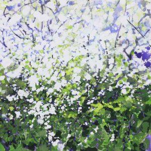Blackthorn & Nettles, Original Painting by Joe Webster
