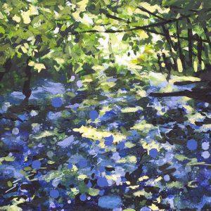 Blackborough Bluebells - Painting